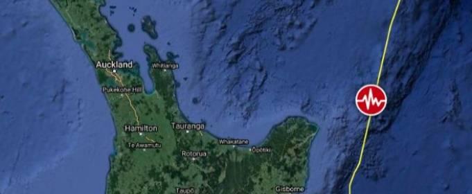 Возможно цунами! Возле Новой Зеландии произошло мощное землетрясение
