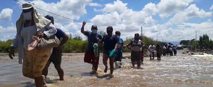 Сильные дожди вызвали наводнения на севере Перу