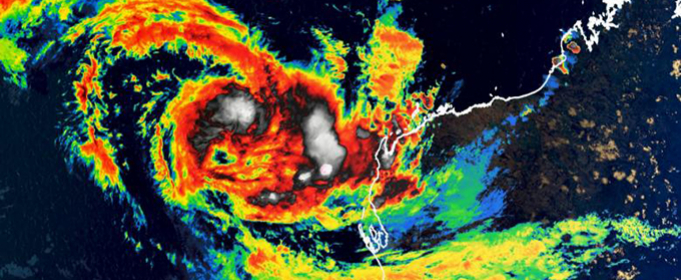 На Западную Австралию обрушился тропический циклон Сероя