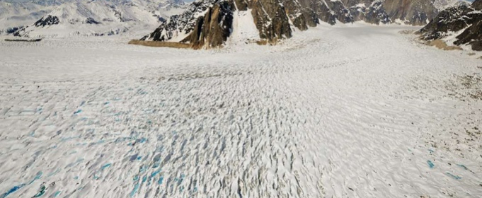 На Алясці льодовик став рухатися в сто разів швидше, ніж зазвичай
