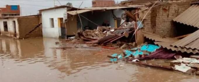 У північних регіонах Перу збільшується кількість повеней
