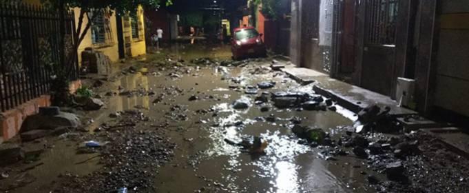 Тисячі людей постраждали від раптових повеней на півночі Колумбії