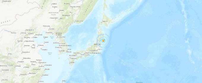 Землетрус магнітудою 5,6 стався в Японії