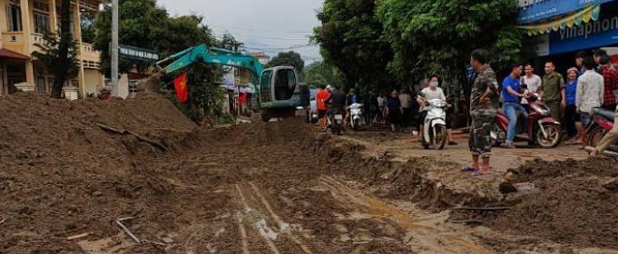 Північні частини В'єтнаму захлиснули повені
