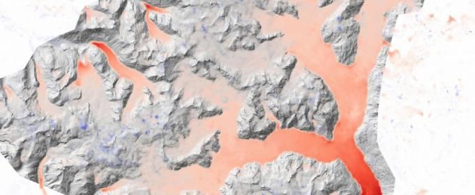 Льодовики в Арктиці скорочуються з різною швидкістю