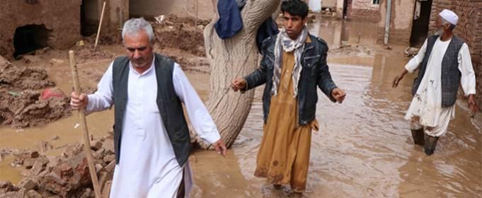 Из-за внезапных наводнений в Афганистане 16 человек погибли и 10 пропали без вести