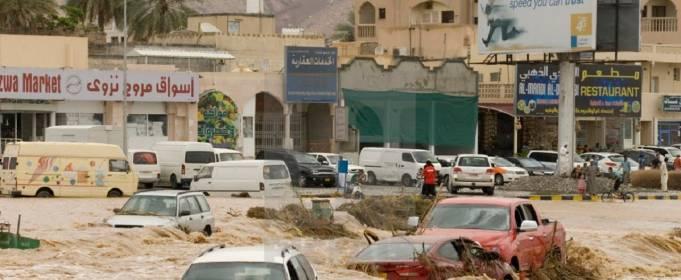 ВІДЕО. Потужна повінь в Омані