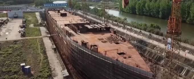 В Китае строят полноразмерную копию «Титаника»