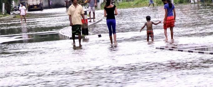 От наводнений на Шри-Ланке пострадало более 44 тысячи человек