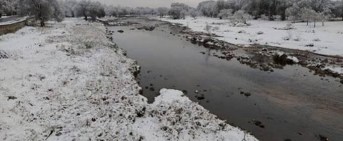 На Аргентину обрушился сильный снегопад