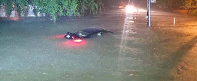 Тропический шторм «Клодетт» вызывает наводнения в Миссисипи, Луизиане и Алабаме