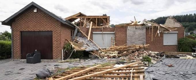 Руйнівний торнадо пройшовся в західній частині Бельгії