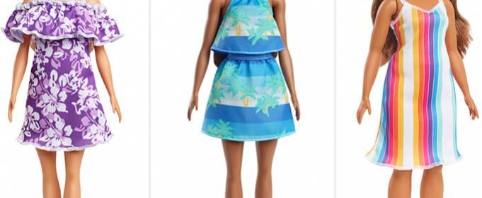 Mattel представила коллекцию кукол из переработанного океанического пластика