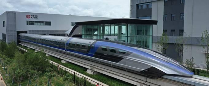 Китай представив найшвидший поїзд у світі