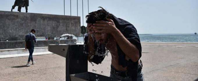 В Греции температура воздуха может подняться до 46 градусов