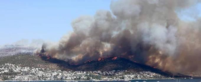 У Туреччині через пожежі почали евакуацію туристів. Відео