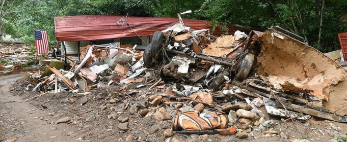 Мощное наводнение в штате Теннесси, США