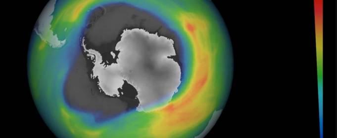 Ученые: озоновая дыра над Южным полюсом теперь больше Антарктиды