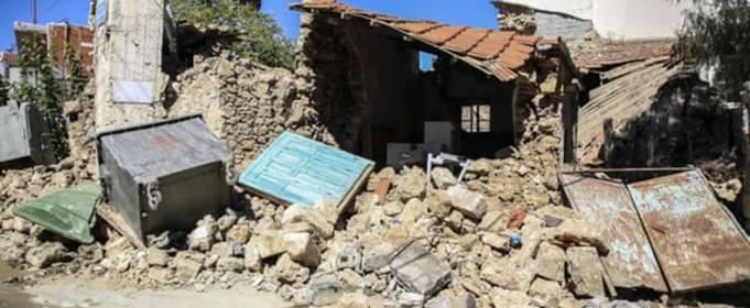 ВИДЕО. Сильное землетрясение на острове Крит, Греция