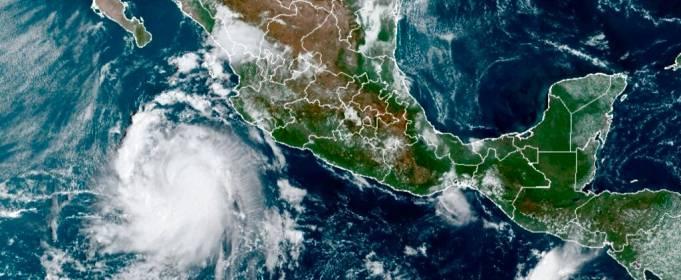 Ураган «Памела» усиливается у тихоокеанского побережья Мексики
